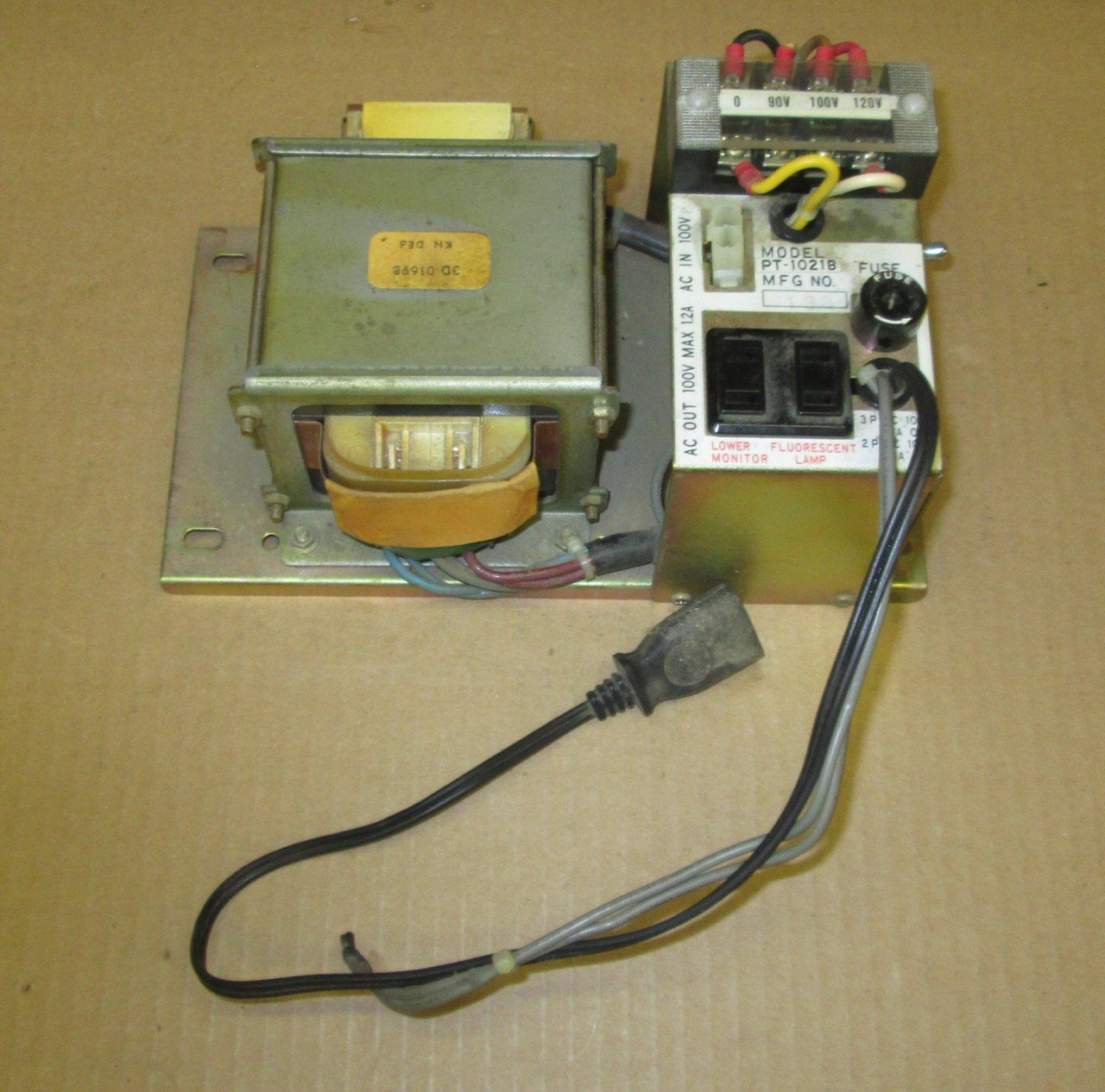 Nintendo Power Transformer Pt 1021b Tested Working For Sale Wiring Jamma Supply Picture Of