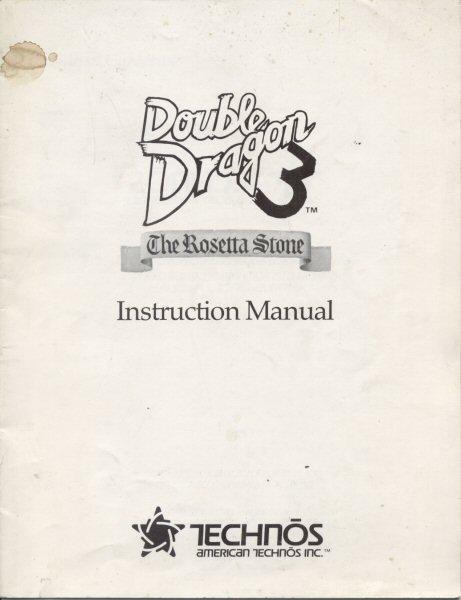 double dragon 3 the rosetta stone arcade game manual for sale rh quarterarcade com rosetta stone mandarin free rosetta stone mandarin chinese