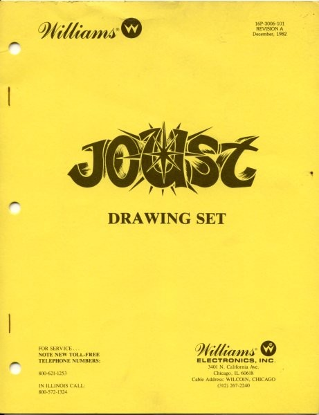 joust arcade game manual for sale quarterarcade com rh quarterarcade com Basic Electrical Schematic Diagrams Simple Wiring Diagrams