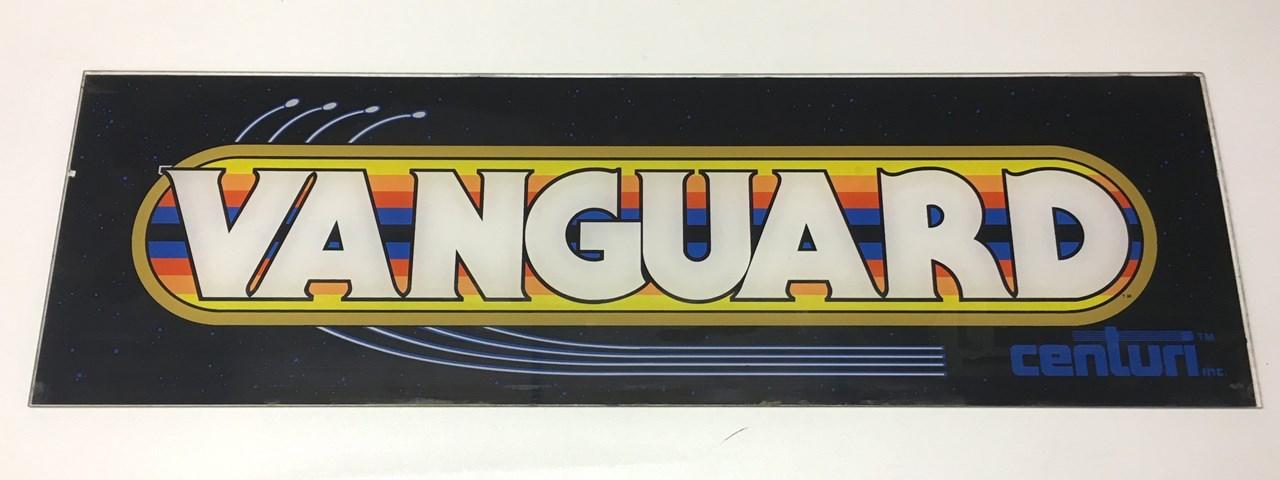 Centuri Vanguard upright arcade game marquee for sale, price ...