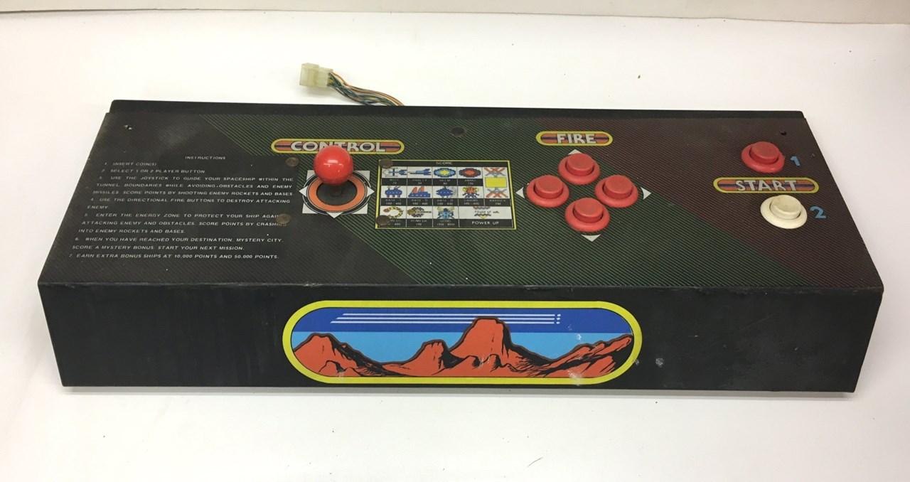 Centuri Vanguard upright arcade game control panel for sale, price ...