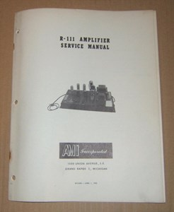 Picture of AMI R-111 Amplifier