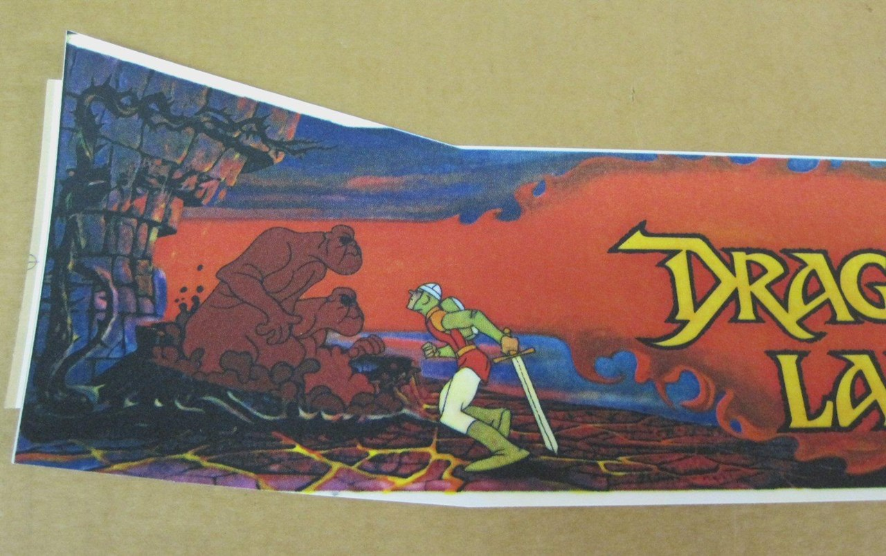 Dragon S Lair Marquee For Sale Quarterarcade Com