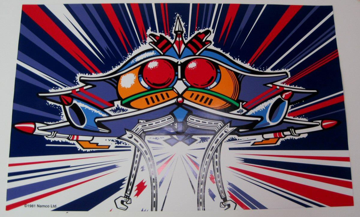 Galaga Artwork  Combo Package  For Sale