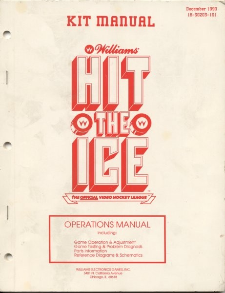 Hit the Ice - Arcade - Games Database