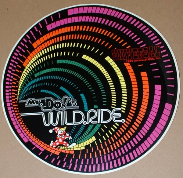 Mr  Do  U0026 39 S Wild Ride New Old Stock  Nos  Side Art For Sale