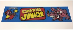Picture of Donkey Kong Jr. Marquee