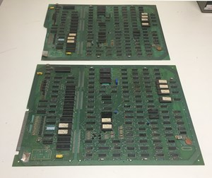 Picture of Q*bert CPU Board x 2