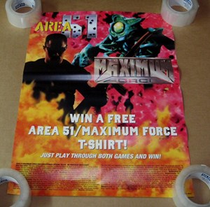 Picture of Area 51/Maximum Force Duo Poster